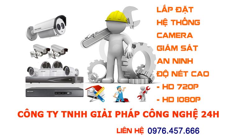 Dịch vụ lắp đặt camera giá rẻ tại bắc ninh
