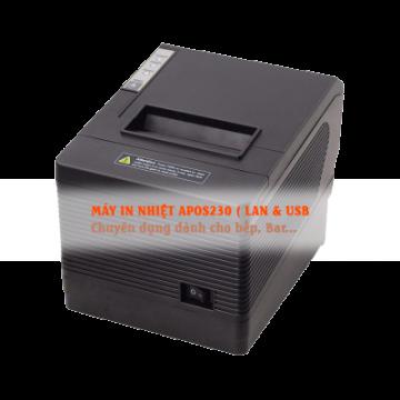 Máy in nhiệt APOS 230 (khổ 80mm) có cổng mạng
