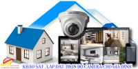 Tư vấn chọn lắp đặt camera quan sát cho gia đình