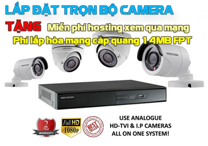 Lắp đặt hệ thống camera giám sát chất lượng cao
